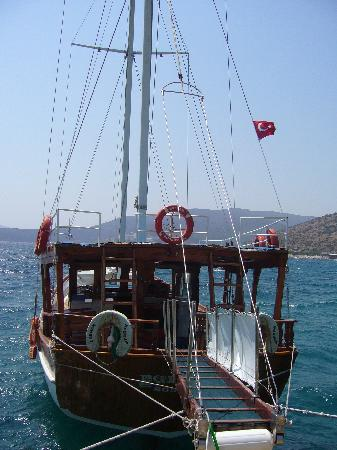 Club Med Bodrum Palmiye : bateau