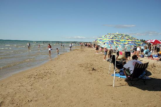 Полуостров Брюс, Канада: Sauble Beach - Second largest freshwater beach in the world!