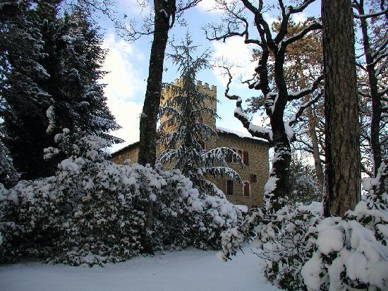 Castello Cortevecchio : il Castello d'inverno