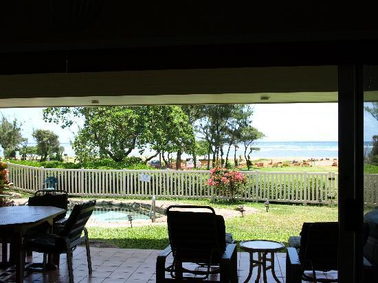 Moana Kai Beach Houses: View from Lanai
