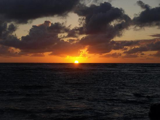Moana Kai Beach Houses: Sunrise in the backyard