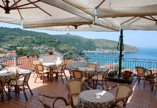BEST WESTERN Hotel La Conchiglia: Terrazzo dell'hotel