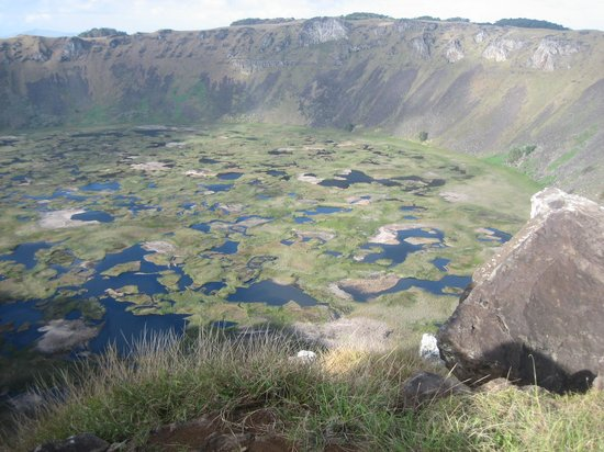 Easter Island, Chile: Rano Kau crater