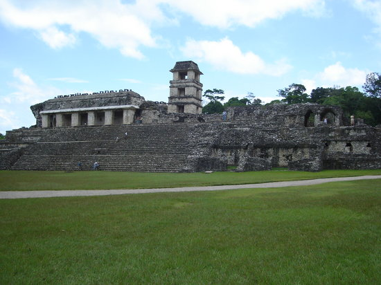 National Park of Palenque: Watch tower of Palenque