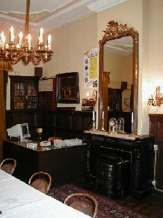 Parkzicht: Hotel reception