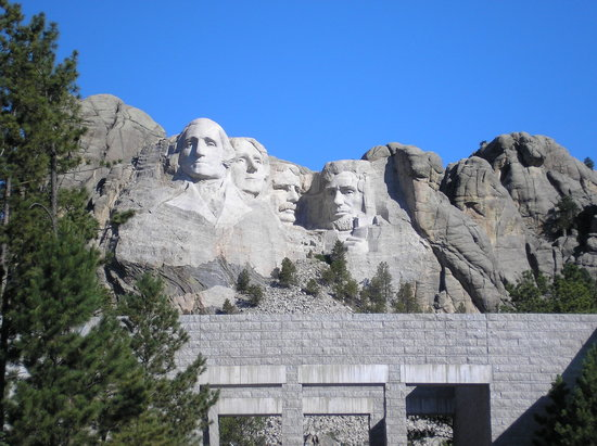 Keystone, Dakota du Sud : Mount Rushmore