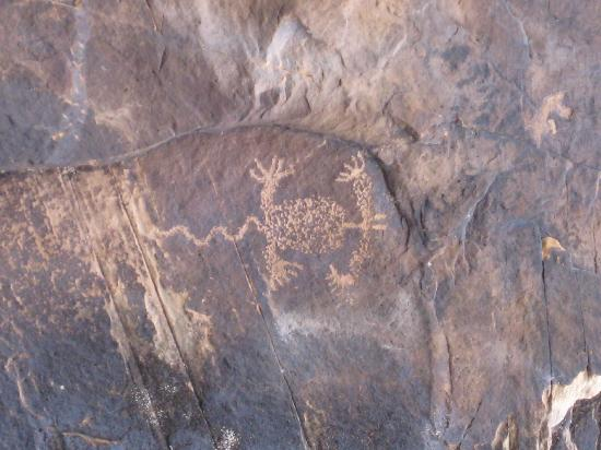 Rock Art Canyon Ranch: Petroglyph