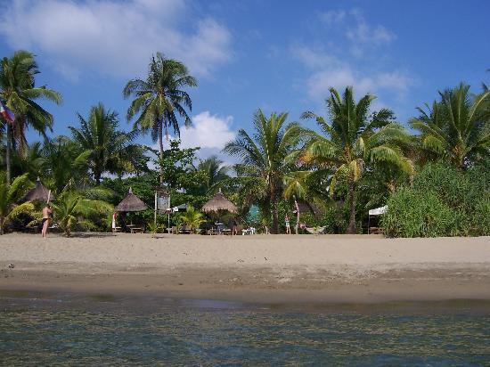 Bermuda Beach Resort: Strandabschnitt vor Bermuda Beach