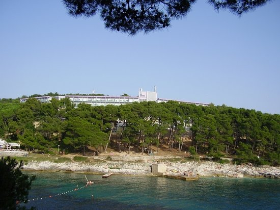 Mali Losinj, Croatia: The hotel