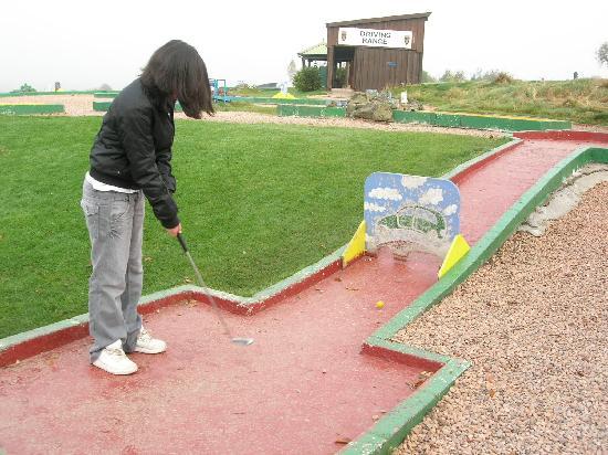 Crieff Hydro Hotel and Resort: Crazy Golf