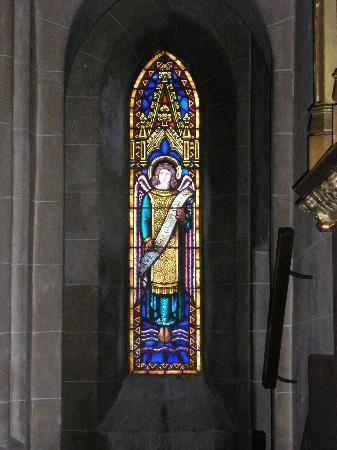 Puig de Pollença: Puig de Maria - window in chapel