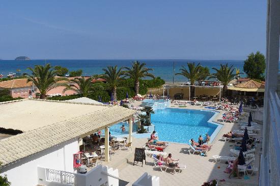 Poseidon Beach Hotel View From Room