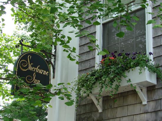 Sherburne Inn window box