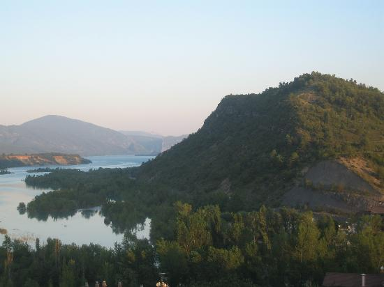 Los Siete Reyes: View from restaurant in town