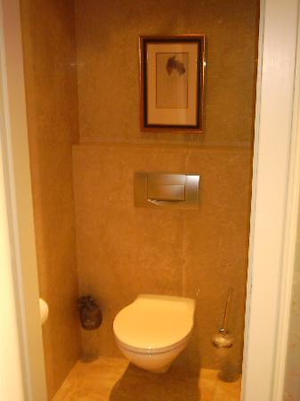 Four Seasons Hotel des Bergues Geneva : Toilets