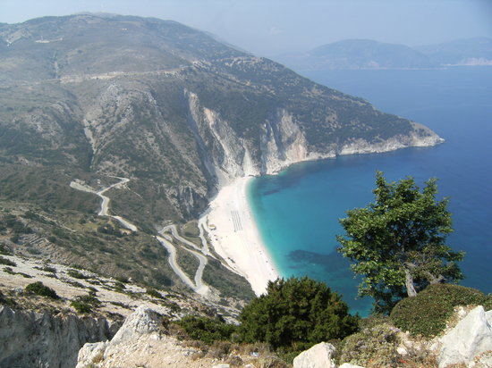 Lassi, Greece: Myrtos beach