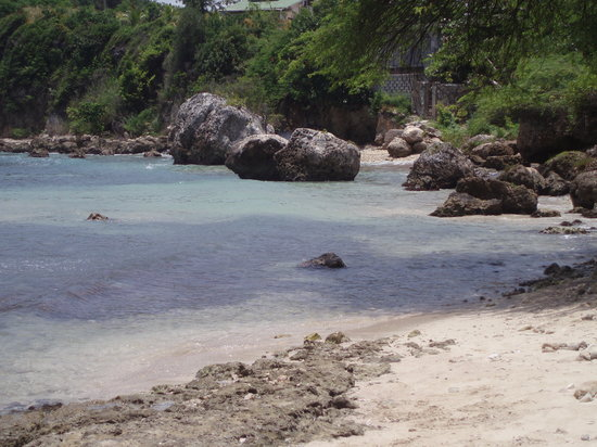 close up of jacmel bay