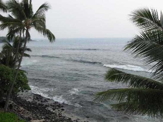 Castle Kona Bali Kai: View of Banyans Surf Spot from lanai