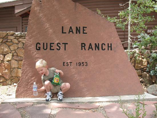 Lane Guest Ranch: Entry