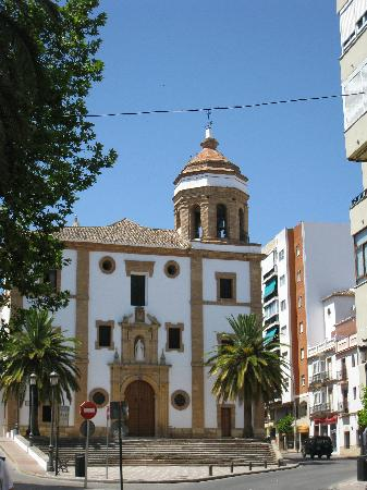 Hotel Sierra Hidalga: Church in Ronda