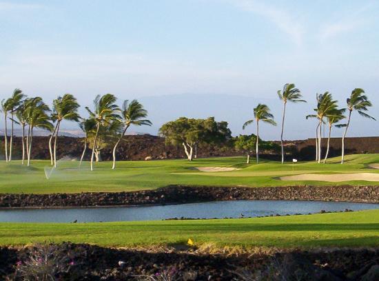 The Islands at Mauna Lani: out the back lanai