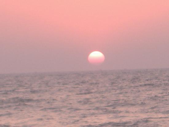 Old Goa: sunset