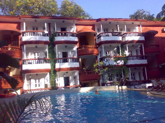 Old Goa: Hotel santigo