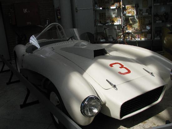 Riga Motormuseum : Soviet racecar