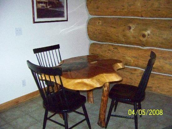 Soap Lake, WA: dining area room 27