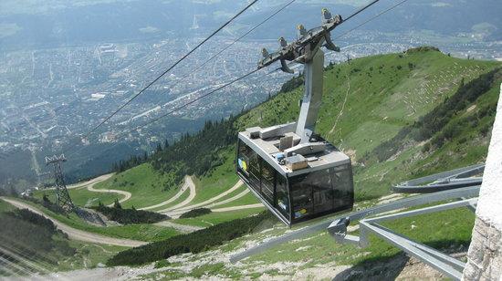 Innsbruck, Autriche : Nordkettenbahnen