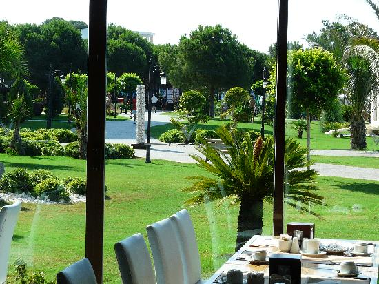 Voyage Belek Golf & Spa : view from the main restaurant