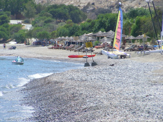 Pissouri, Cypern: The beach