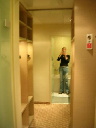 Hotel Das Tigra: Hallway
