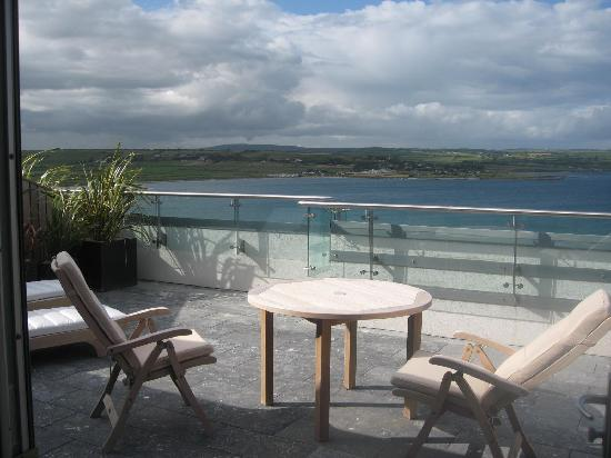Cliff House Hotel : Terrace