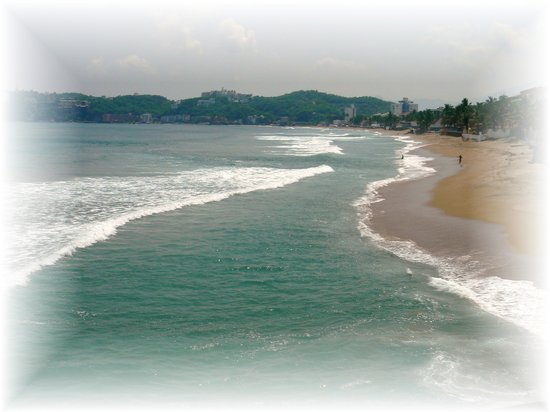 Manzanillo, Mexique : Santiago Beach