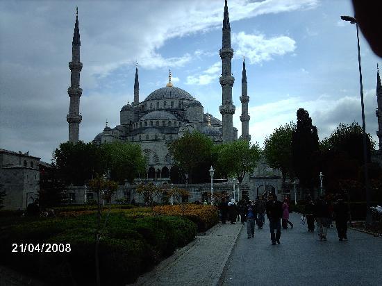 Historia Hotel: moschea blu