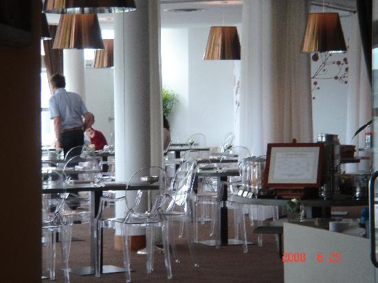 Miramar La Cigale Hotel Thalasso & Spa: salle petit dejeuner