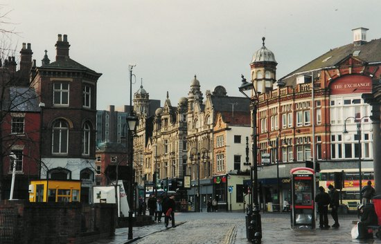 Лидс, UK: Leeds City Center