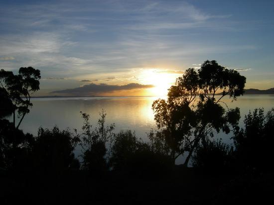 Isla Suasi Hotel: du lac titikaka