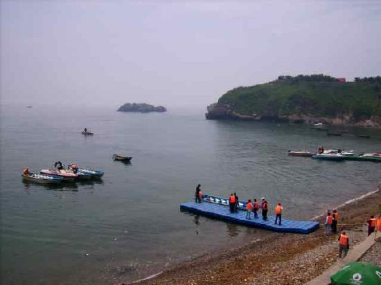 Dalian, China: On the way to tortise shell island