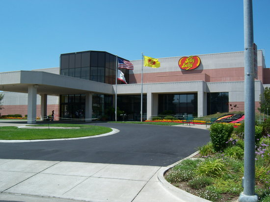 Fairfield, Kalifornia: Front of the Jelly Belly Visitors Center