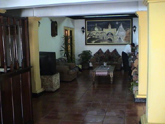 Hostal Hermano Pedro Guatemala : Lobby