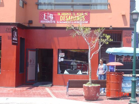 L G Restaurante: L G Restarurante 1
