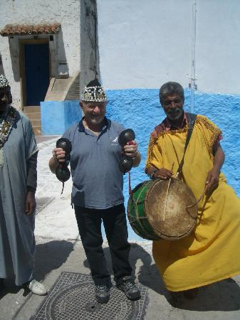 Kasbah des Oudaias: musician