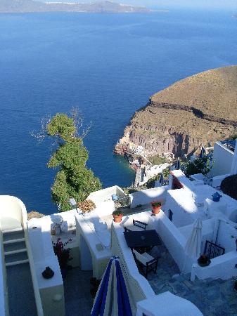 Villa Renos: View from the balcony