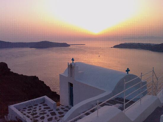 Grace Santorini Hotel: Wonderful moment