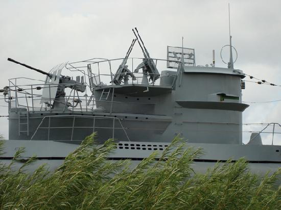 U-Boot U 995: The tower