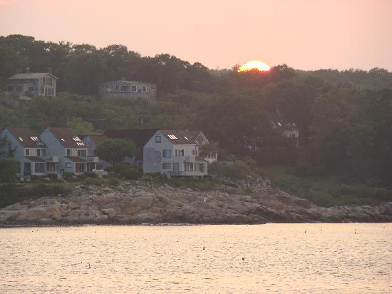 Eagle House Motel: Rockport Sunset