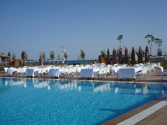 Cornelia Diamond Golf Resort & Spa: la préparation de la soirée de Gala