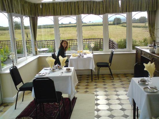 Wroxeter, UK: Breakfast area